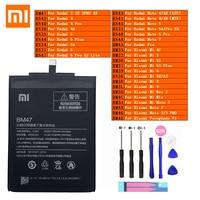 Xiaomi Original Redmi Hongmi Note Mi Max 2 A2 3 3S 4 4A 4C 4X Mix 5 5A 5X 5S 6 6X 7 8 9 Lite Plus Pro Pocophone F1 Phone Battery