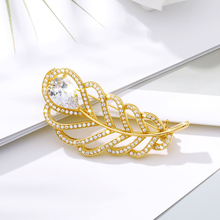 Ladies Large Leaf Luxury Crystal Brooch Men's Fashion Pin Rhinestone Bouquet Brooch Jewelry Scarf Coat Collar Woman Jewelry цена 2017