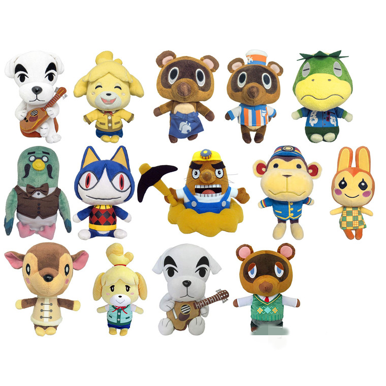2020 New Animal Crossing KK Plush Toy Cartoon Figure Doll Soft Stuffed  Toys Children Gift Toys