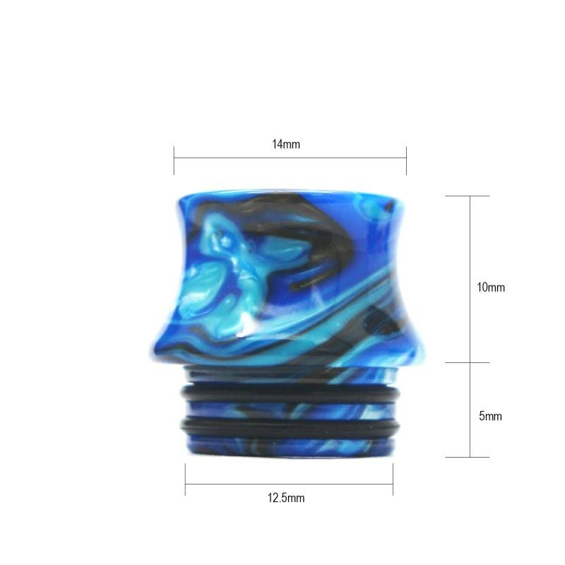 50PCS 810 Resin Vape Drip  Tips Mouthpiece For TFV8 Big Baby TFV12 Prince Sticke V8 E Cigarette Accessories Drip Tip