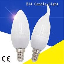 1 pçs/lote E14 levou Vela Lâmpada 220 V-240 V 5W 7W 10W LEVOU Lustre Lâmpada LED Branco Quente/Frio Branco LEVOU Holofotes Para A Decoração Home