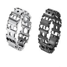 29 в 1 Многофункциональный инструмент браслет протектор браслет нержавеющая сталь открытый болт драйвер инструменты для кемпинга пешего ту...