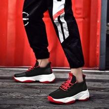 ADISPUTENT nowych mężczyzna Sneakers buty na co dzień antypoślizgowe kobiet Sneakers mężczyźni buty lekkie wygodne oddychające Walking Sneakers tanie tanio Mesh (air mesh) Szycia Mieszane kolory Cotton Fabric Wiosna jesień men sneakers Lace-up Niska (1 cm-3 cm) Pasuje prawda na wymiar weź swój normalny rozmiar