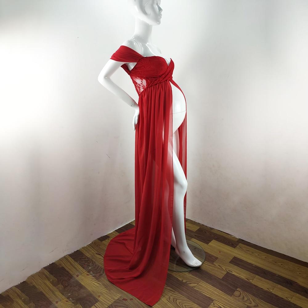 Chiffon Pregnancy Dress Gown Dresses