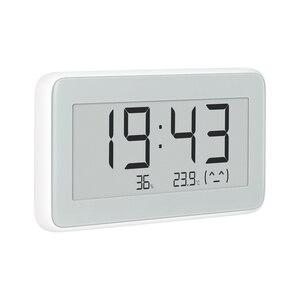 Image 5 - Xiaomi Mijia BT4.0 אלחוטי חכם חשמלי דיגיטלי שעון מקורה וחיצוני מדדי לחות מדחום LCD טמפרטורת מדידה