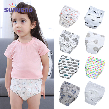 Cotton Baby Diapers Washable Cloth Diaper Baby Child Baby Cotton Reusable Diaper Training Pants Underwear
