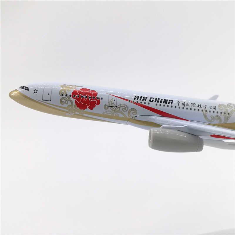 20 センチメートル 1:400 スケールエアバス A330-200 モデルエア中国航空会社ダイキャスト合金航空機飛行機キッズギフトグッズディスプレイ