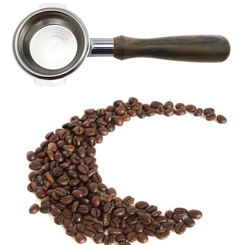 Bottomless Portafilter Filter Holder Espresso Coffee Filter Handle E61  58mm 22g Basket