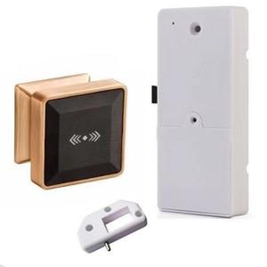 Image 4 - Cerradura electrónica para armario con tarjeta RFID, cerradura de puerta inteligente de inducción electrónica adecuada para armarios, hoteles y baños