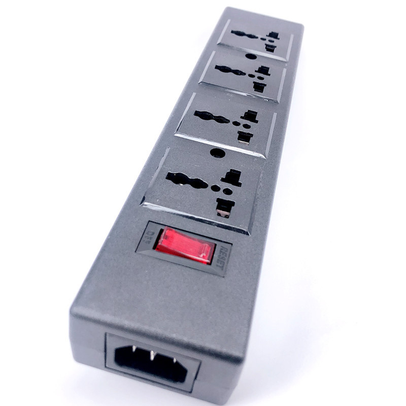 4way Multi Plug Socket Extension port outlet Convertor SURGE PROTECTOR 13A 250V