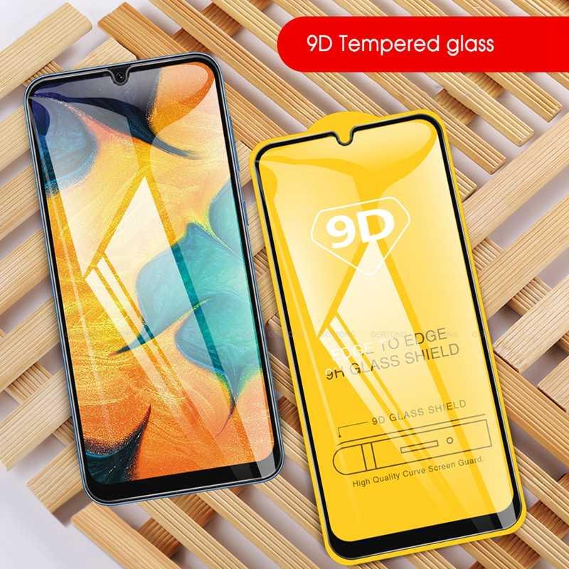 9D szkła dla Samsung S10e A10S A20S A20e A30S A30 A50 A50S A70 A80 hartowane osłona ekranu aparatu M40 M30 M20 M10 pełna pokrywa