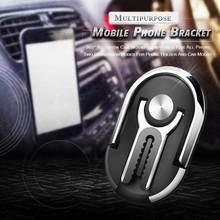2021 novo 2 pçs multiuso suporte do telefone móvel do carro suporte do telefone móvel montagem de ar vent clipe smartphones suporte por atacado