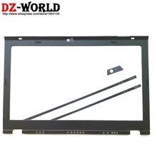 חדש LCD קדמי מעטפת מסך Bezel כיסוי עבור Lenovo ThinkPad T420S T430S w/LED אור מחוון דגם מצלמה מדבקה 04W1675