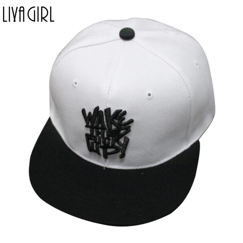 Unisex Women Men Letter Snapback Adjustable Baseball Cap Hip Hop Hat Cool Bboy