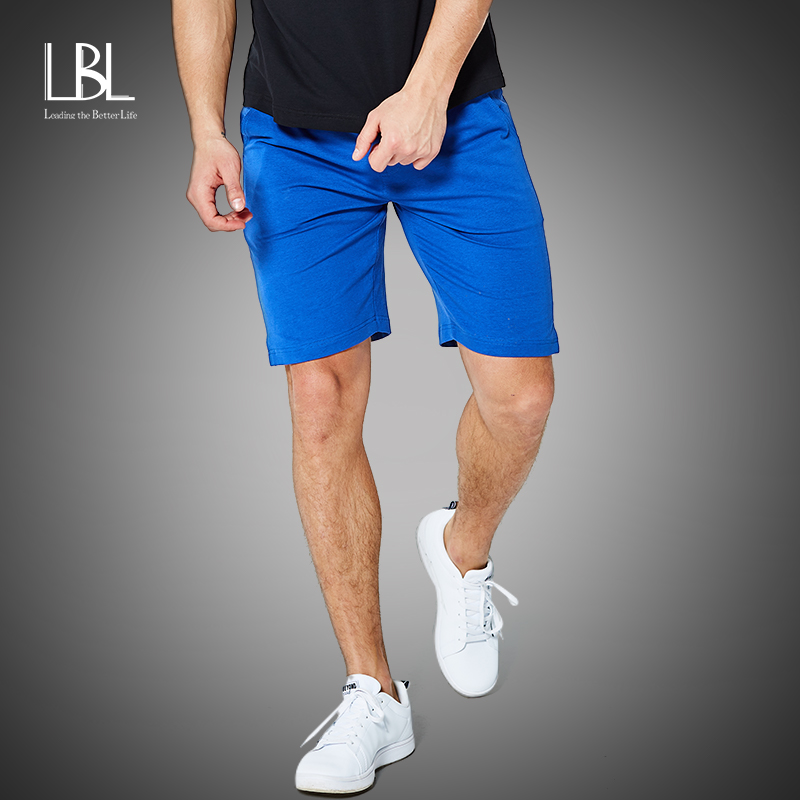 Brand Summer New Casual Shorts Men Solid Candy Color Available Cotton Harem Shorts Loose Elastic Waist Breathable Beach Shorts