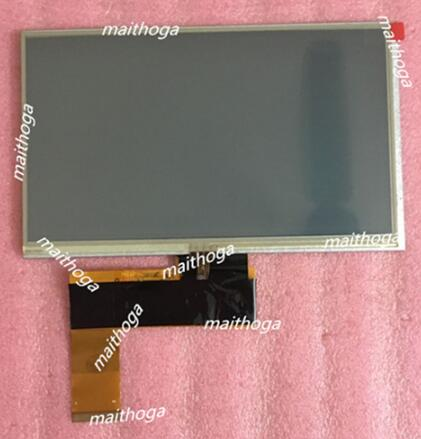 7,0 дюймов TFT lcd gps общий экран MF0701594002B KR070PB8S 1030300127 REV D внутренний экран планшетного ПК - Цвет: Screen with Touch