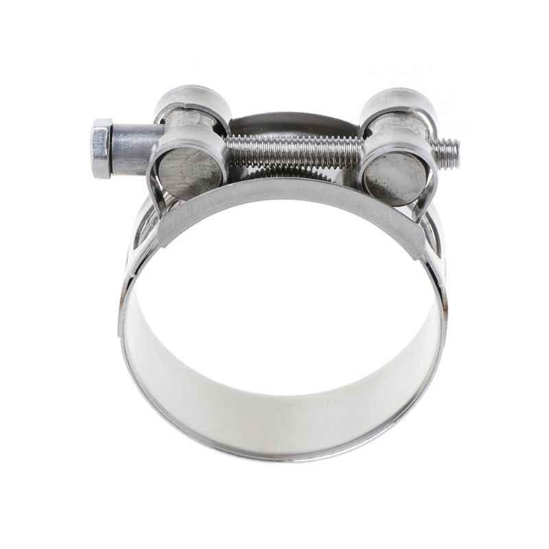 ステンレス鋼精密鋳造衛生クイックフィットクランプ円筒管継手固定クリップスナップオン固定パイプフープ 45-51