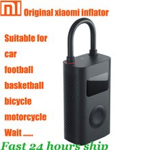 Original xiaomi Mijia Inflator Portable Smart Digital Tire Pressure Sensor Electric Pump for Motorcycle Motorcycle Car Soccer