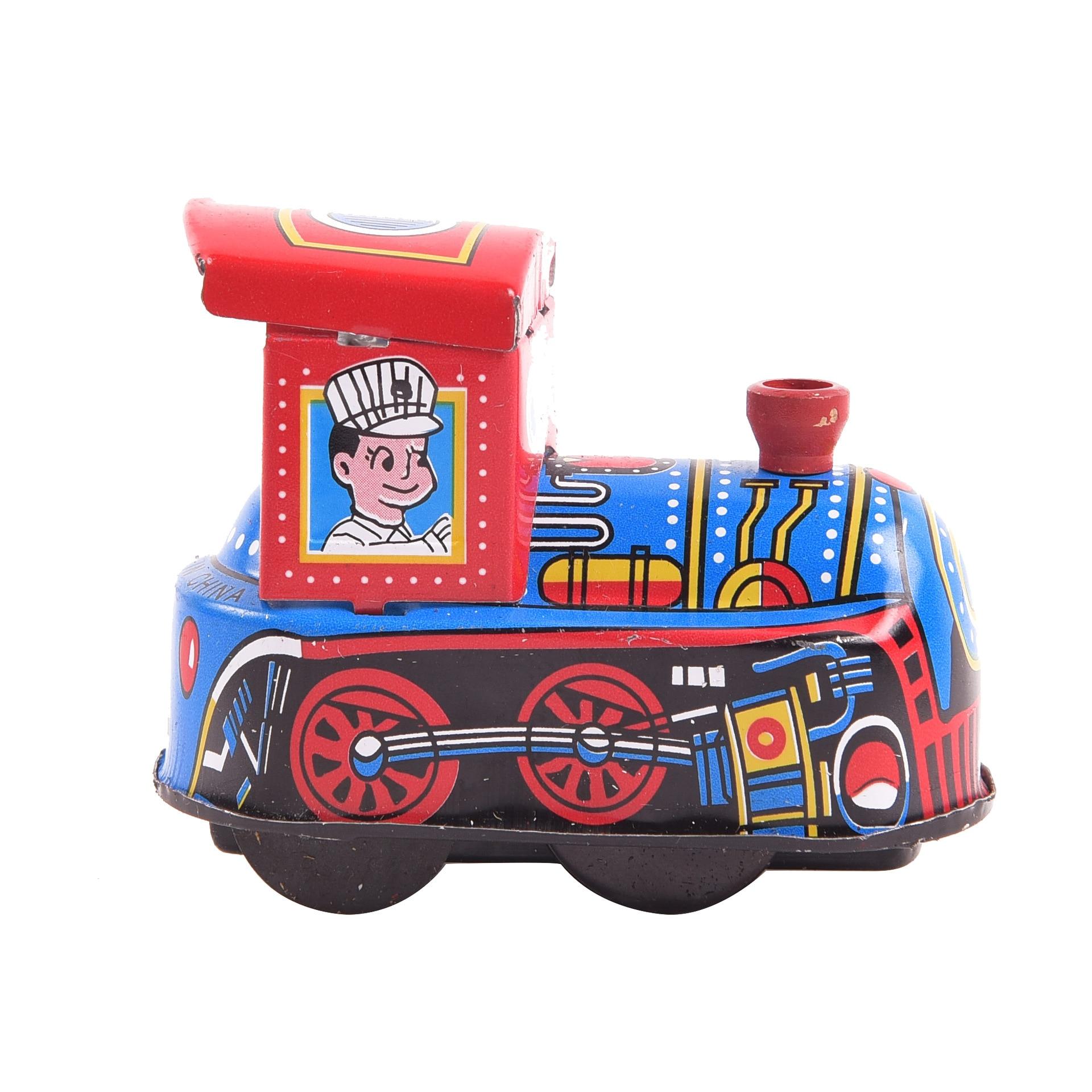 Yiwu Small Toy 80 Classic Nostalgic Retro Toy Algam Locomotive