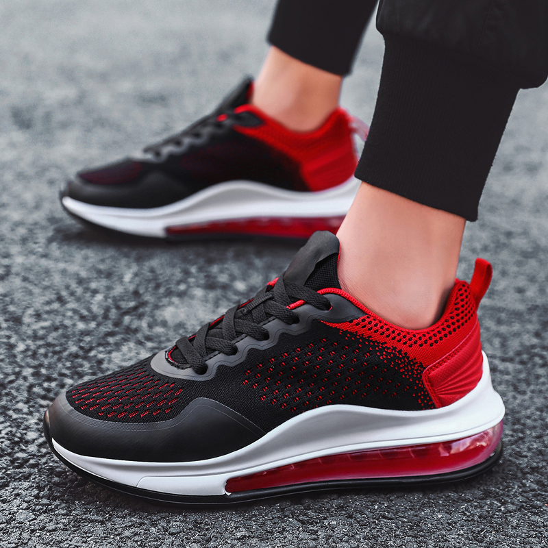 Running Shoes Men Lightweight Mesh Sneakers Air Cushion Men Sports Shoes Couple Outdoor Jogging Sneakers Men Athletic Footwear