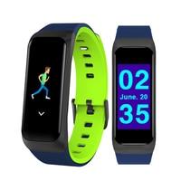 Smart Fitness Bracelet Bluetooth Camera Blood Pressure Facebook Waterproof App Application Sleep Sedentary Reminder Smart Watch