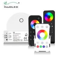 LED RGB Controller 12V 24V 12A RGB LED Streifen Licht Wifi Controller Wireless 2,4G RF Touch Fernbedienung control V3 RGB Controler