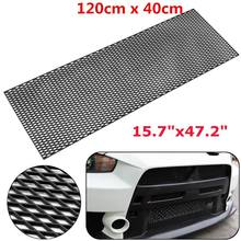 Grille Center-Bumper Air-Vent Car-Racing-Grill Honeycomb Universal 120x40cm Meshed Intake