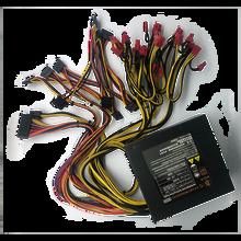 Высокоэффективный блок питания ATX12V для игрового ПК, 1800 Вт, 12 шт., блок питания 1800 Вт, модульный блок питания 220 В, блок питания для майнинга бит...