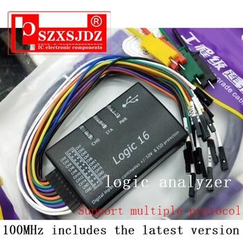 Saleae USB Logic 100MHz 16Ch Logic Analyzer for ARM FPGA E4-004