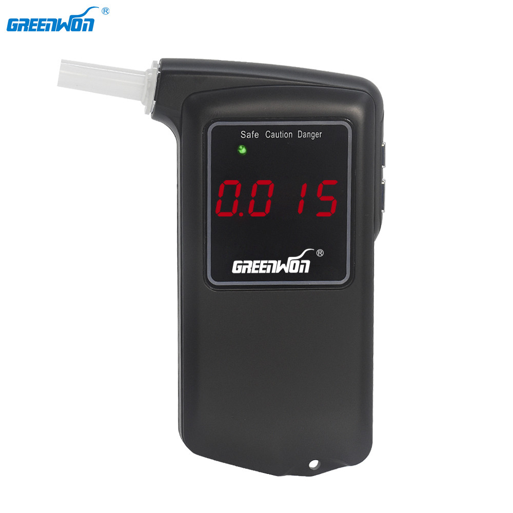 GREENWON wysoka dokładność profesjonalny alkomat cyfrowy alkomat AT858S alkomat automat sprzedający