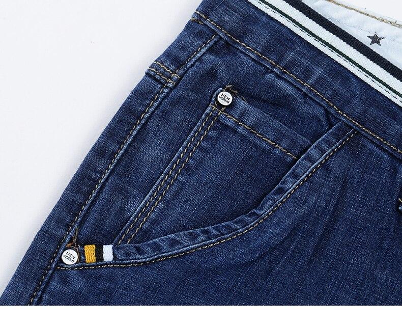 KSTUN Mens Jeans Brand Stretch 2020 Summer Thin Slim Fit Blue Hip Hop Ripped Jeans Men Denim Pants