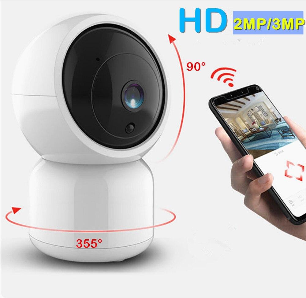Wifi Ip Camera Security Mini Ptz 1080P 3MP Auto Tracking Audio Video Surveillance Baby Monitor Home Wireless Cctv Ip Cam