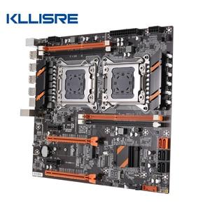 Image 4 - Kllisre X79 doble CPU placa base LGA 2011 E ATX Tablero Principal USB3.0 SATA3 PCI E 3,0 16X PCI E NVME M.2 SSD compatible con procesador Xeon