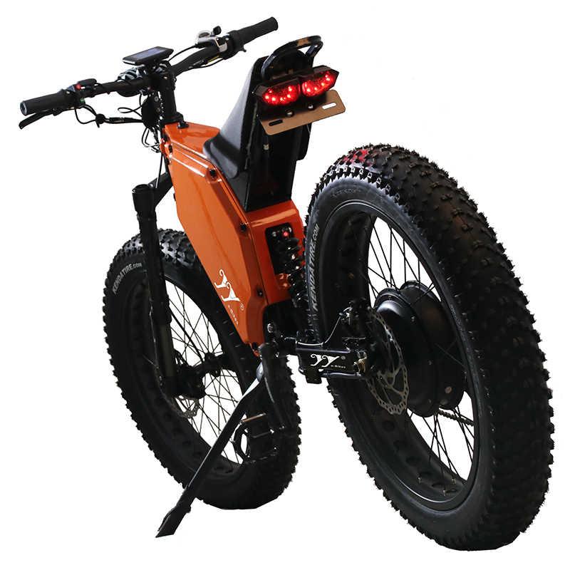 ยอดนิยม 26 นิ้วEbikeจักรยานที่มีประสิทธิภาพไฟฟ้าจักรยานMountainสกูตเตอร์ผู้ใหญ่ไขมันยางจักรยาน 5000W Electricaสกู๊ตเตอร์