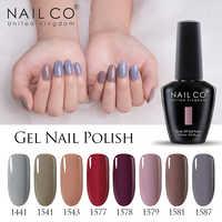 NAILCO Gel Unha Polonês UV Unhas de Gel Manicure LED Color Gel Polonês Soak off Unhas de Gel Verniz Gel Laca Sorte pintura de unhas Gellak