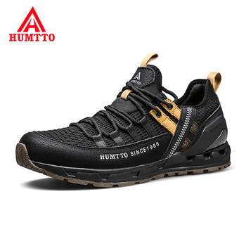 Brand 2019 New Men Sneakers Non-slip Wear Resistant Outdoor Jogging Sport Shoes Light Breathable Mesh Running Shoes