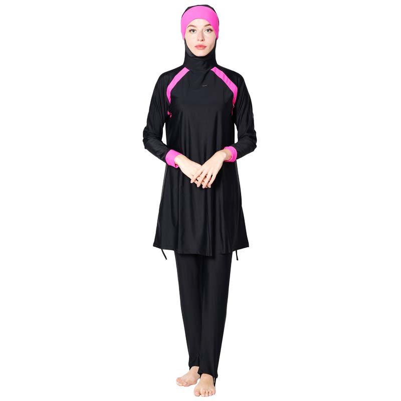 Shehang  Muslimah Islamic Plus Size Swimsuit Swim Surf Wear Sport Burkinis Women Muslim Swimwear Hijab