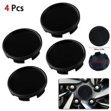 4pcs 58mm 53mm  Universal Car Wheel Tire Rims Center Hub Caps Cover Decorative Kit