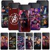 Smartphone Case For Samsung Galaxy Z Flip3 5G Z Flip 3 z flip ZF 5G Cover PC Capa Hard Funda Coque Marvel Avengers Infinity War