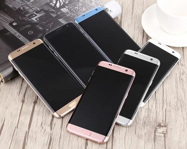 Unlocked Original Samsung Galaxy S7 edge G935F/G935V  4GB RAM 32GB ROM Quad Core 5.5 inch WIFI GPS 12MP 4G LTE Mobile Phone 2