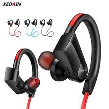 XEDAIN cuffie senza fili impermeabili cuffie Stereo Bluetooth nellorecchio auricolare Bluetooth lettore MP3 con microfono per iPhoneX