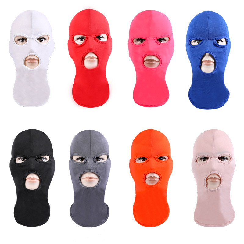 Anti-UV cycling mask full face Breathable training bike scarf Men women sport riding running bicycle balaclava headband cover