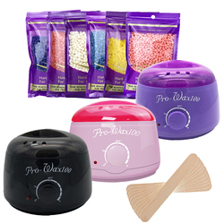 Meierli Paraffin Wax Nóng Tẩy Lông Nóng 100G Sáp Đậu Máy Wax Ấm Nóng Chuyên Nghiệp Mini Spa Tay bàn Chân