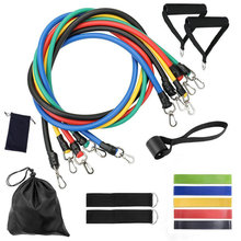 Fitness-Equipment-Accessories-Set Resistance-Bands Exercise Training-Workout Elastics