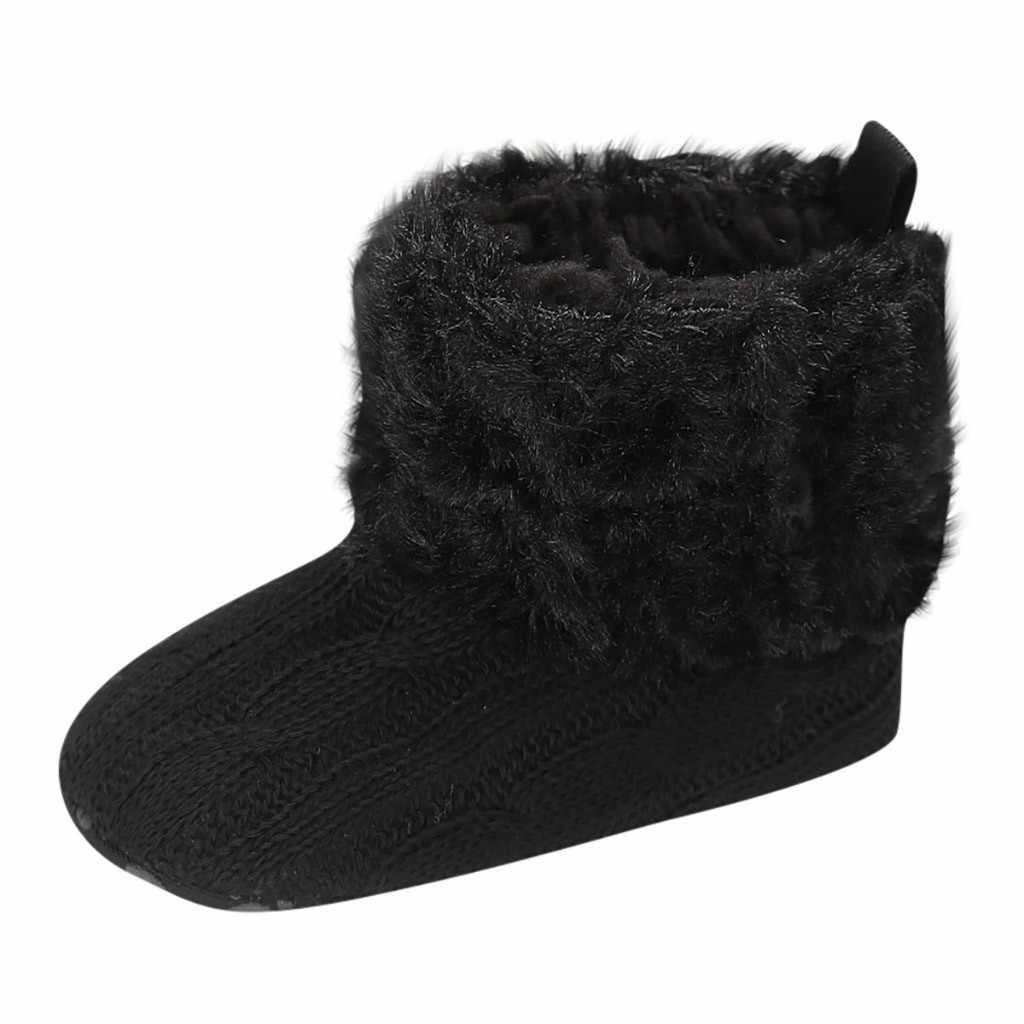 Eerste Wandeling Schoenen Laarzen Peuter Kid Baby Meisjes Leuke Peuter Winter Comfortabele Casual Warme Zachte Zool baby schoenen chaussure attipas