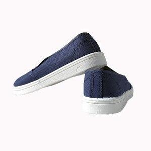Image 5 - Anti Static รองเท้าเพื่อความปลอดภัยรองเท้าผ้าใบสีฟ้าแรงงาน Work Shop ทำความสะอาดฝุ่น ฟรี Purification