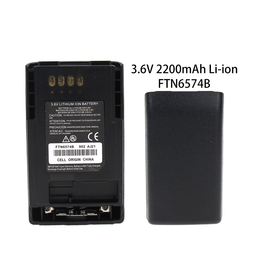 Battery For Motorola MTP850 CEP400 FTN6574 FTN6574A PMNN6074 AP-6574 2200mAh