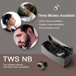 Image 5 - اديفير TWSNB tws aptx سماعات لاسلكية anc سماعة إلغاء ضوضاء فعال سماعة كوالكوم بلوتوث 5.0 LDS هوائي
