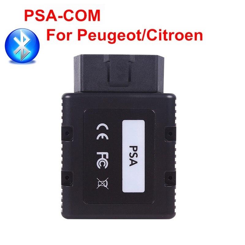 PSACOM BT PSA-COM Bluetooth programme de Diagnostic pour Peugeot Citroen véhicules PSA COM remplacement remplacer Lexia 3 PP2000 Scanner