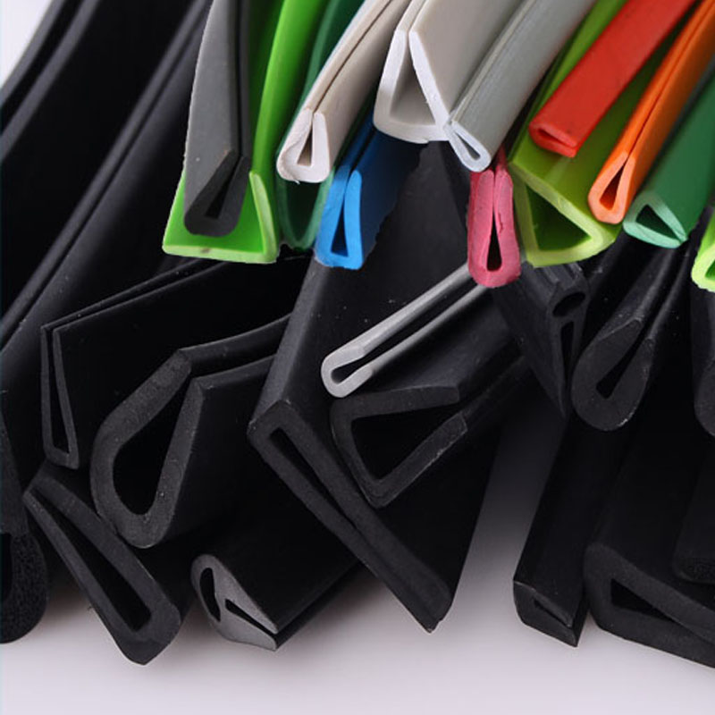 1 Meter U Channel Car Door Window Edge Guard Rubber Seal Strip Auto Seal Weatherstrip Glass Edge Trim Shower Door Seal Gaskets